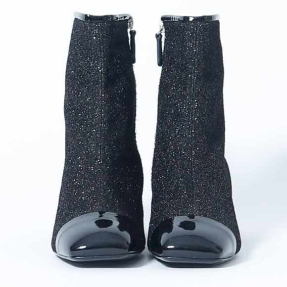 bc93f29a47 CHANEL Shoes | Black 17k Glitter Milky Way Booties | Poshmark
